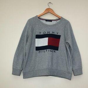 Tommy Hilfiger Box Logo Crewneck Sweatshirt
